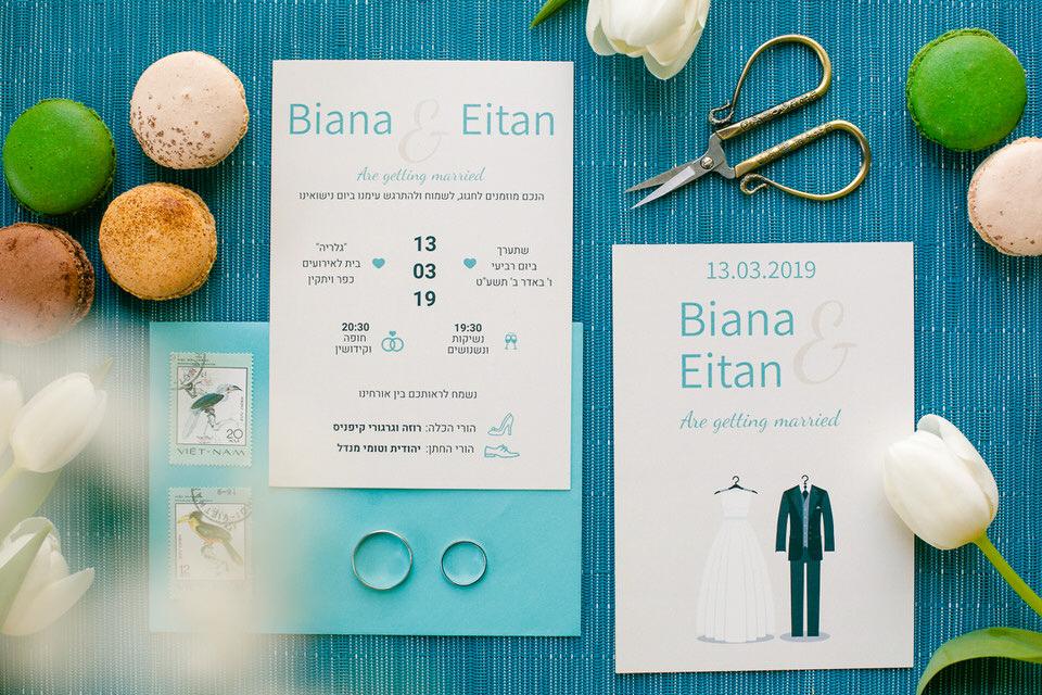 wedding invitations layout