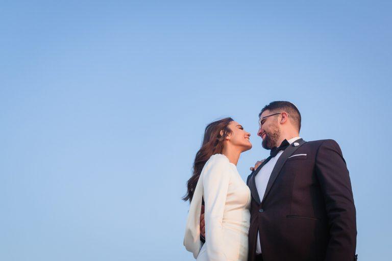 Covid19 wedding in Washington Hill, Israel