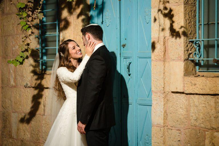Covid19 Wedding at the Vista, Jerusalem, Israel